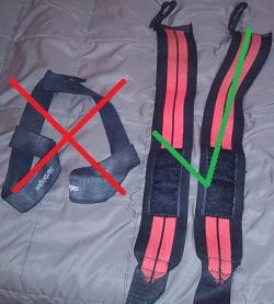 Wraps vs. Straps