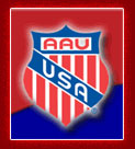 AAU Powerlifting Logo