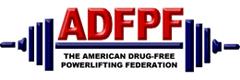 ADFPF Powerlifting Logo