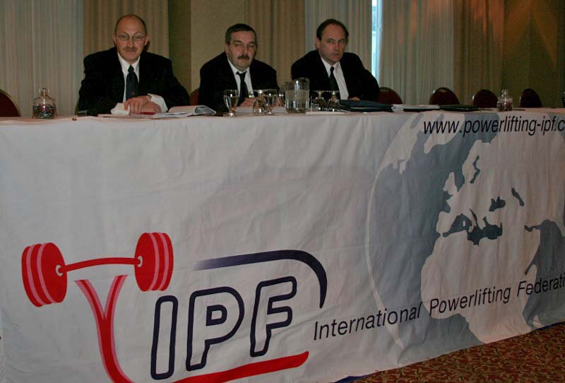 The President and Co. of the IPF (2008).
