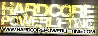 Hardcore Powerlifting Logo