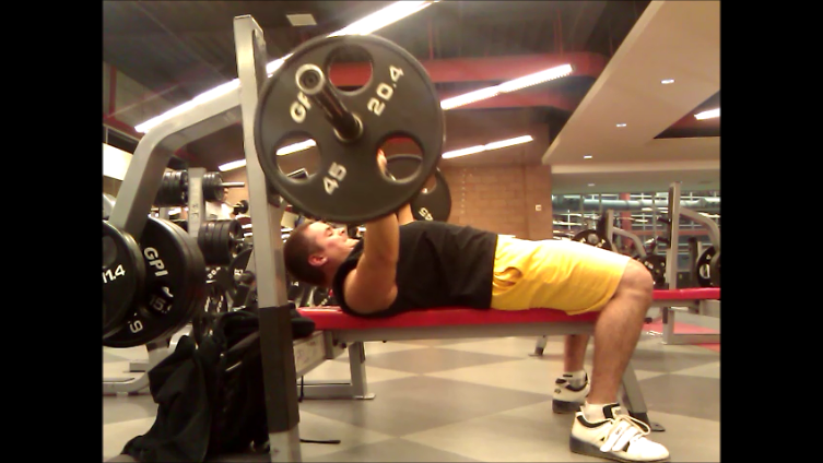 Head Up Bench Press