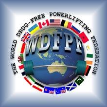 WDFPF Powerlifting Logo