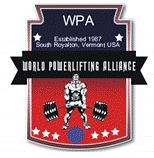 WPA Powerlifting Logo
