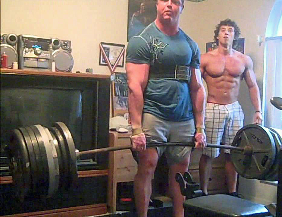 "George ""Babyslayer"" Leeman is one of the guys who has recently popularized high belt deadlifting."
