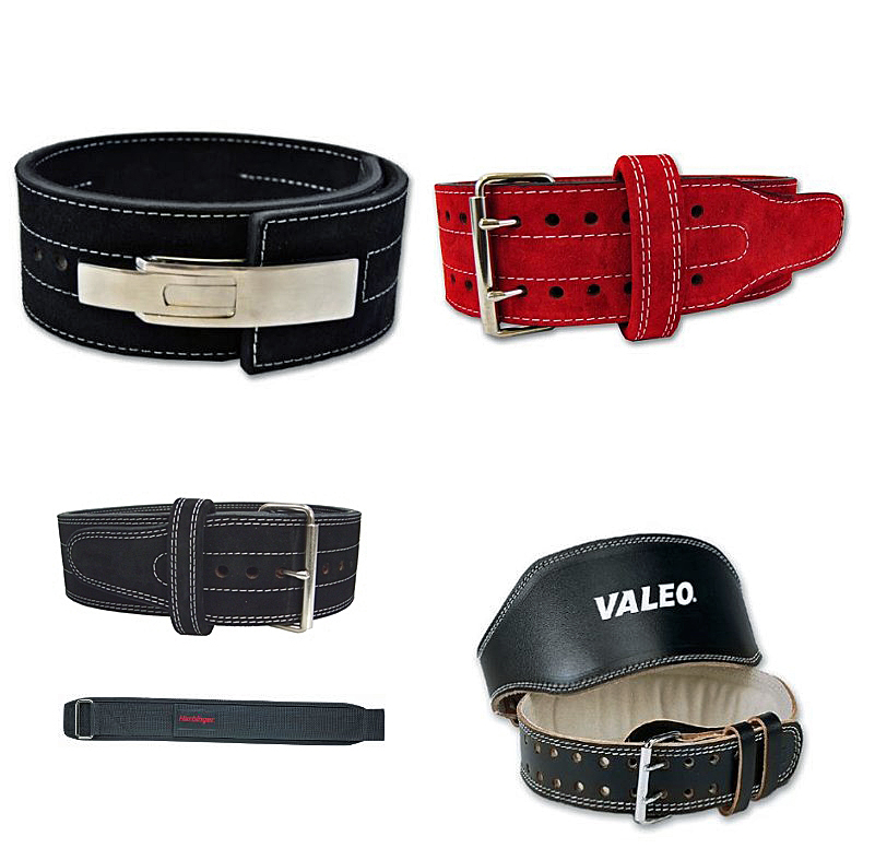 Here are just a few of the belt options: lever belt, double pronged, single pronged, tapered, and velcro.