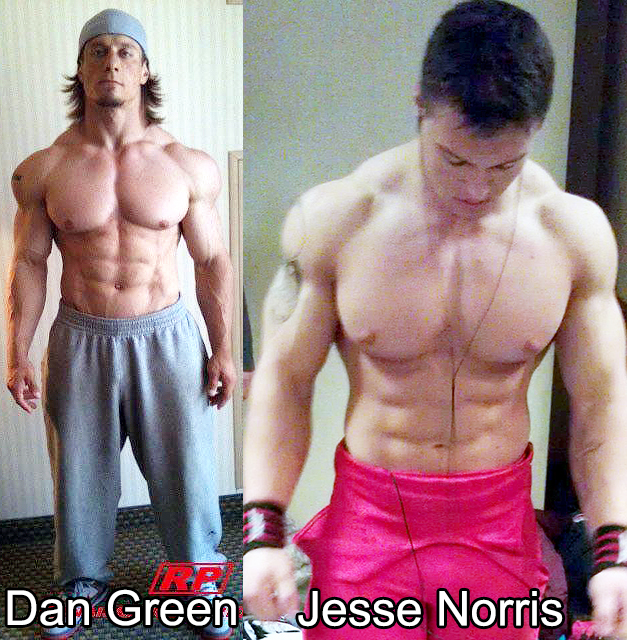 Dan Green holds world records at 220lbs and 242lbs. Jesse Norris holds world records at 198lbs.