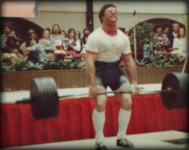 Coach Rip deadlifted well over 600lbs when he actively competed.