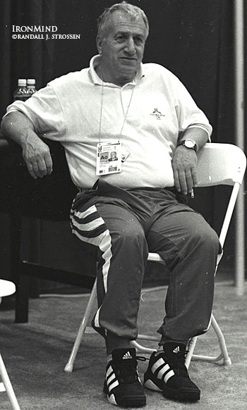 Coach Abadjiev -- the godfather of the most successful weightlifting team in history.