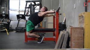 Bench Press Arch Mobility Step 1