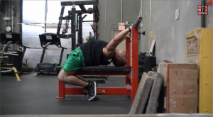 Bench Press Arch Mobility Step 2