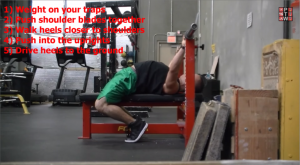 Bench Press Arch Technique Step 5