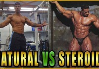 natural vs steroids