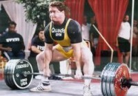 The great Ed Coan. He once pull 901lbs at 220lbs body weight.