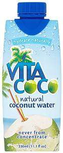 Coconut water is my preferred fluid to mix with water for reconstitution purposes.